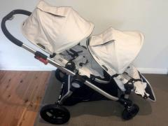 2014 Baby jogger city select double excellent condition