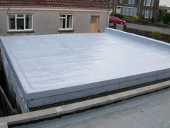 Film, coating, liner, geomembrane, membrane