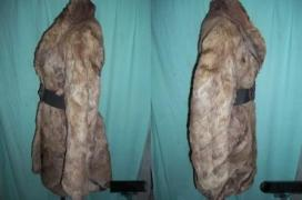 GENUINE RABBIT FUR COAT FROM THE FAMOUS FIRM KARA