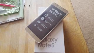 Samsung galaxy note 5 32gb unlocked in brand new box warranty