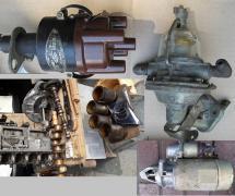 Spare parts for UAZ-GAZ-21 and GAZ-24