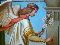 The Icon Of The Annunciation