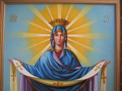 The Icon Of The Holy Virgin