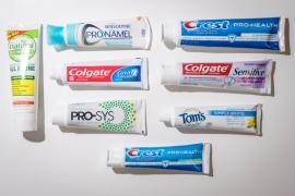 Tissue Paper, Still Water, Toothbrush,Toothpaste