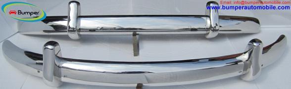 Volkswagen Beetle Euro-style bumper (1955-1972) stainless steel